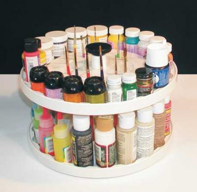 40-Paintier Carrousel Organizer