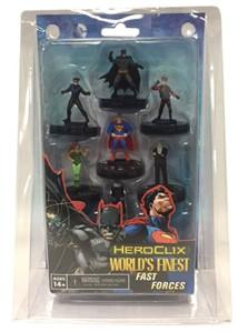 DC Heroclix: Batman/Superman Worlds Finest Fast Forces