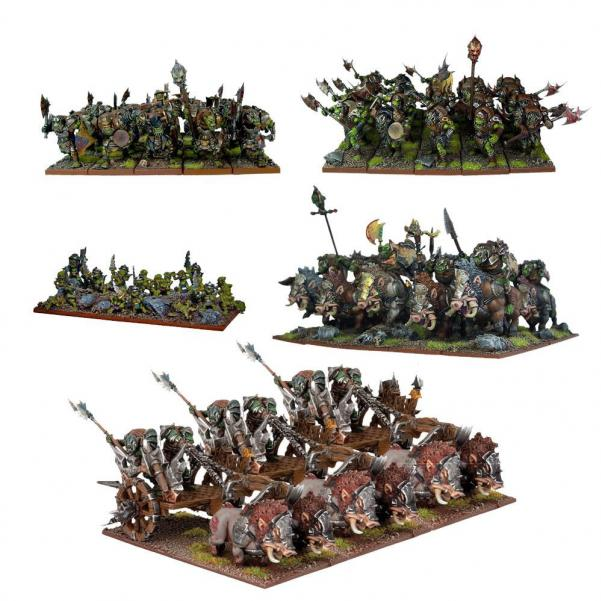 Kings Of War, 2nd Edition: (Orc) Starter Army