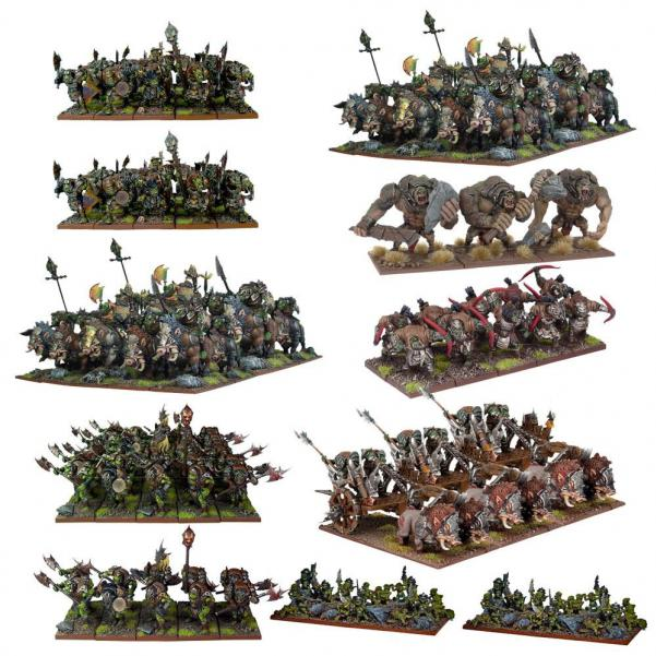 Kings Of War, 2nd Edition: (Orc) Mega Army