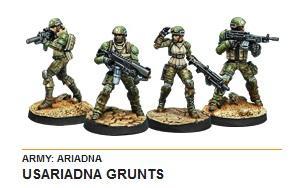 Infinity (#539) Ariadna: USAriadnan Grunts