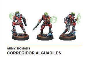 Infinity (#542) Nomads - Corregidor Alguaciles