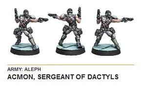 Infinity (#543) ALEPH: Acmon, Sergeant of Dactyls