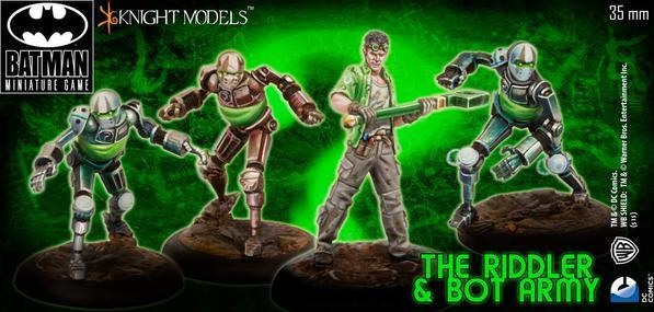 Batman Miniature Game: The Riddler and Bot Army