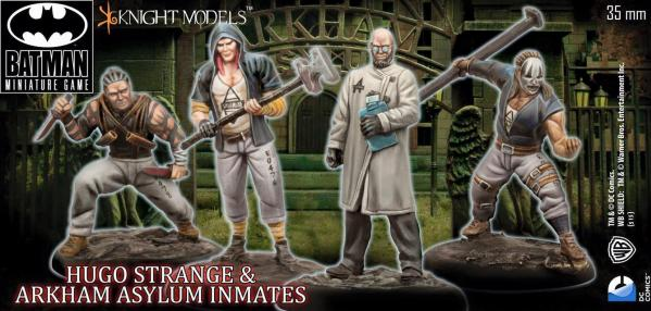 Batman Miniature Game: Hugo Strange and Inmates