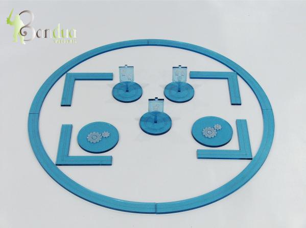 Bandua Accessories:   Warmachine Token Pack - Blue