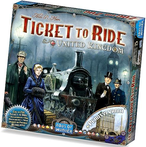 Ticket To Ride: Map Collection V5 - United Kingdom and Pennsylvania