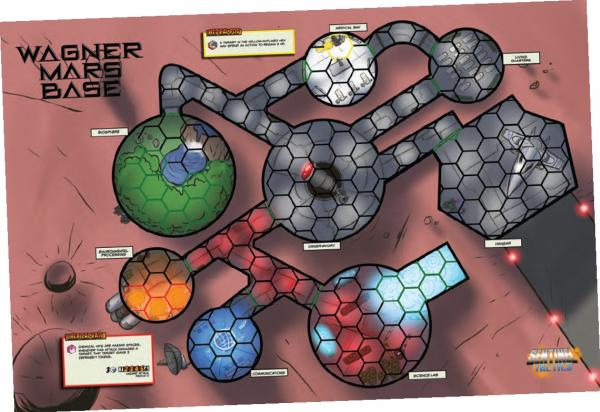 Sentinel Tactics: Wagner Mars Base Scenario Map