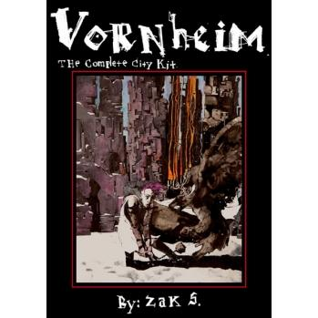 Vornheim: The Complete City Kit (2nd Printing, System Neutral) (HC)