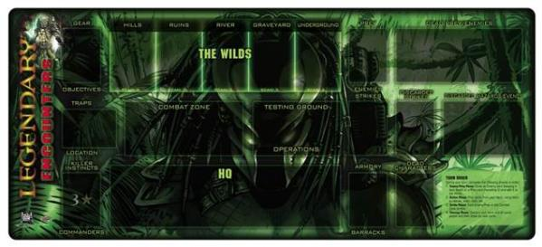 Legendary Encounters: Predator Playmat