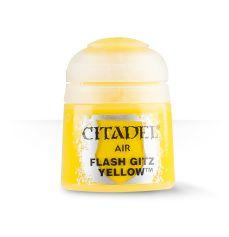 Citadel Airbrush Paints: Flash Gits Yellow Air (12ML)