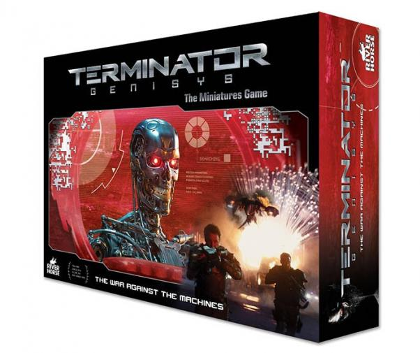 Terminator Genisys: The War Against The Machines Deluxe Miniatures Game