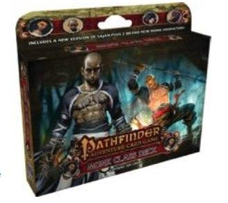 Pathfinder Adventure Card Game Class Deck: Monk (PACG)