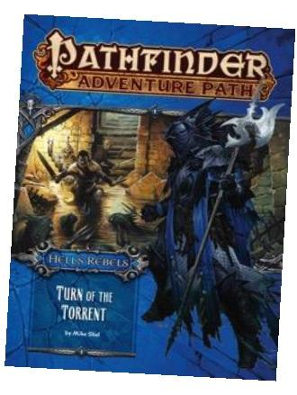 Pathfinder Adventure Path #98: Turn of the Torrent (Hell's Rebels 2 of 6)