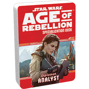 Age of Rebellion RPG: Analyst Specialization Deck