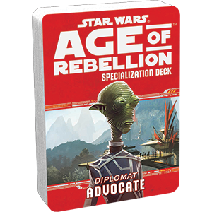 Age of Rebellion RPG: Advocate Specialization Deck
