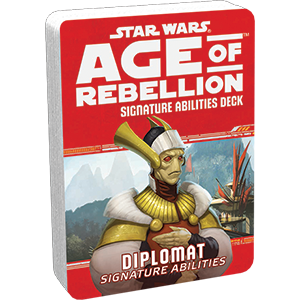 Age of Rebellion RPG: Diplomat Signature Abilities Deck