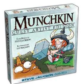 Munchkin: Ian McGinty Guest Artist Edition