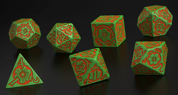 Pathfinder: Jade Regent Dice (7) BOX