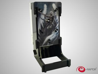 Gaming Accessories: e-Raptor Dice Tower Cuboid - Angel Knight
