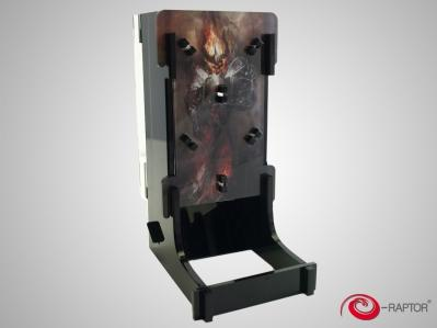 Gaming Accessories: e-Raptor Dice Tower Cuboid - Doom Bringer
