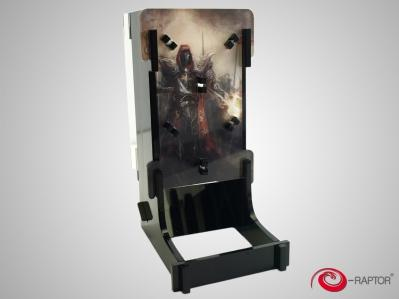 Gaming Accessories: e-Raptor Dice Tower Cuboid - War
