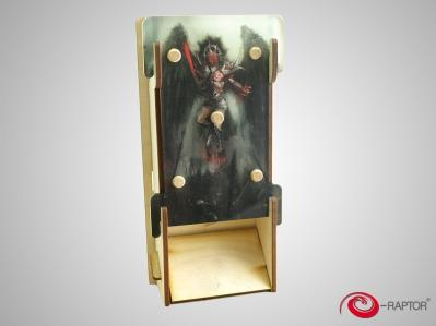Gaming Accessories: e-Raptor Dice Tower Slim - Angel of Death