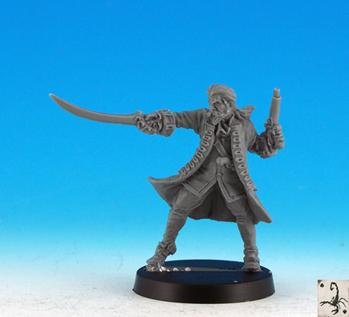 Pirate Miniatures: Privateer Officer