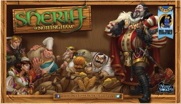 Gaming Playmat: Sheriff of Nottingham