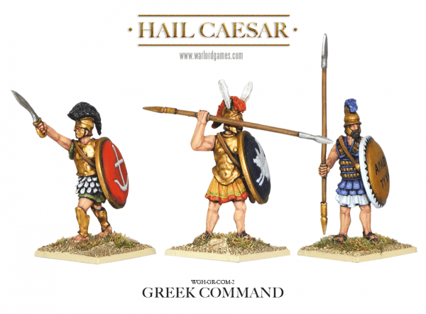 28mm Ancients - Ancient Greeks: Greek Command