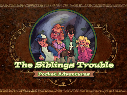 The Siblings Trouble (Boxed Card Game)