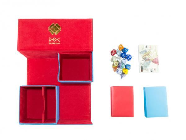 Dex Protection: Creation Line - Large Deckbox - Blue