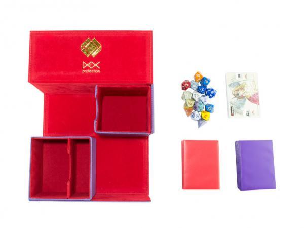 Dex Protection: Creation Line - Large Deckbox - Purple