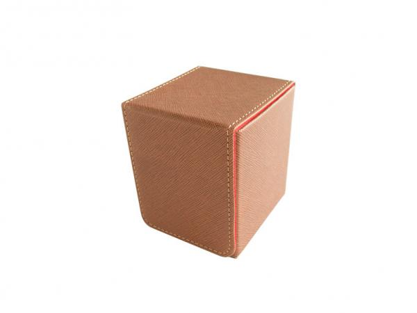 Dex Protection: Creation Line - Small Deckbox - Brown