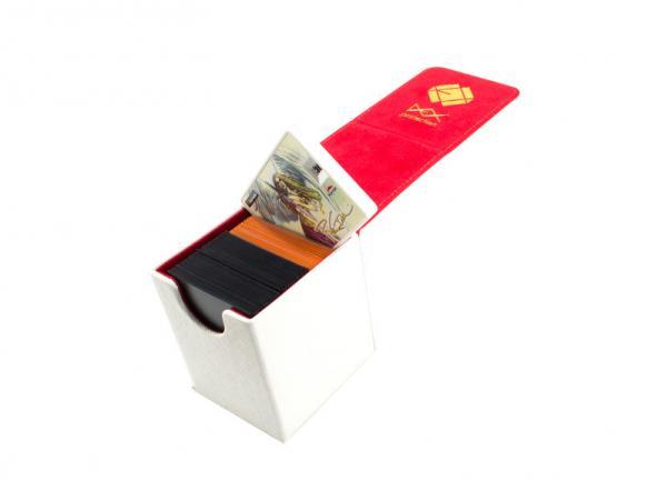 Dex Protection: Creation Line - Small Deckbox - White