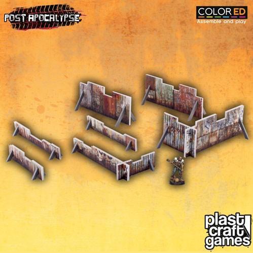 28mm Post Apocalypse: Rusty Barricades (Color ED)