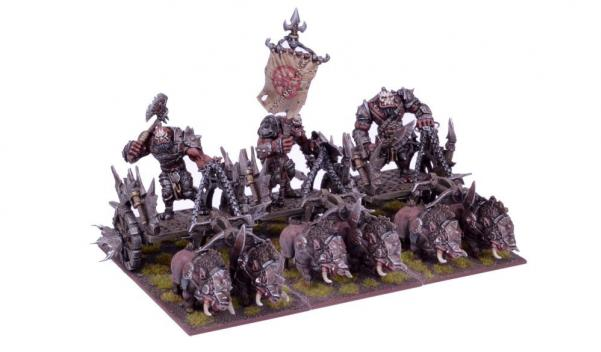 Kings Of War, 2nd Edition: (Ogre) Chariot Regiment