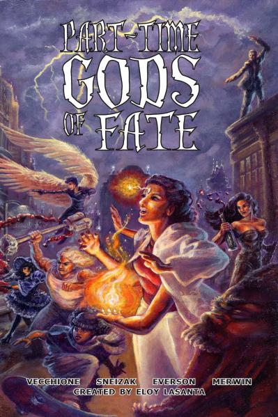 Fate RPG: Part-Time Gods Of Fate (SC)