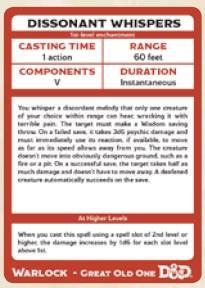Dungeons & Dragons Next RPG: Arcane Archetypes Spellbook Deck (18 cards)