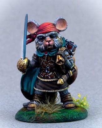 Mouse Swashbuckler w/Rapier