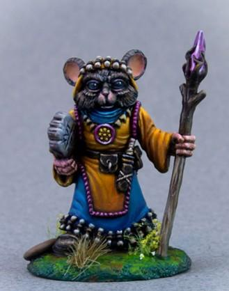 Mouse Druid w/Staff