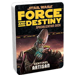 Force & Destiny RPG: Artisan Specialization Deck