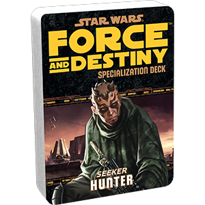 Force & Destiny RPG: Hunter Specialization Deck