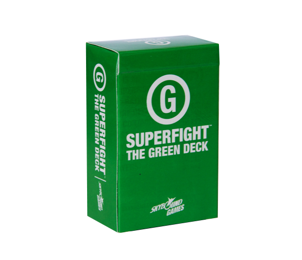 SUPERFIGHT: The Green Deck Expansion