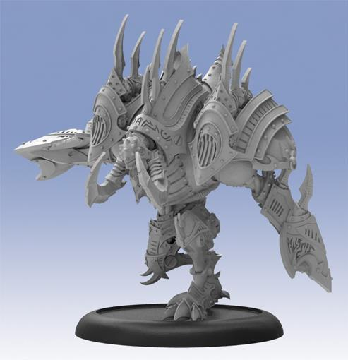 Warmachine: (Cryx) Barathrum, Character Helljack (resin/metal)