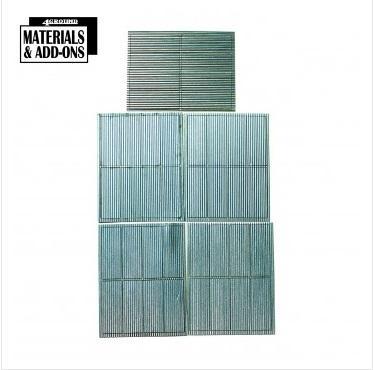 28mm Terrain Accessories: Corrugated Iron