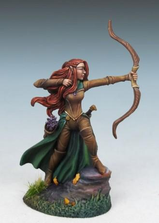 Visions In Fantasy: Female Elven Ranger w/Bow