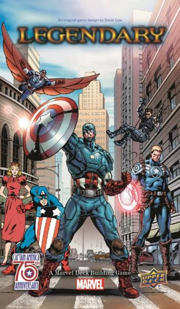 Marvel Legendary: Captain America 75th Anniversary