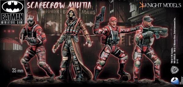Batman Miniature Game: Scarecrow Militia