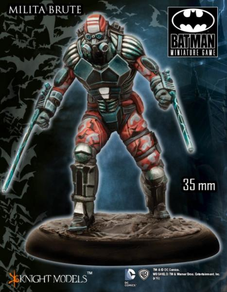 Batman Miniature Game: Militia Brute